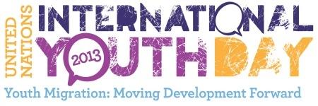 ILO logo for International youth day