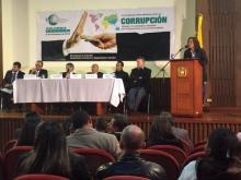 II Foro anticorrupción en Colombia