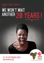 PSI poster - We won't wait another 20 years