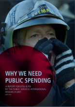 Why we need public spending - cover page
