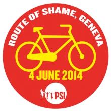 Route of Shame Geneva logo