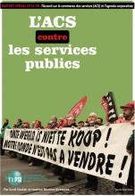 Page de couverture -  l'ACS contre les services publics