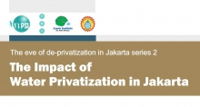 The impact of water services privatization in Jakarta