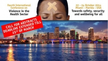 The 4th International Conference on Violence in the Health Sector