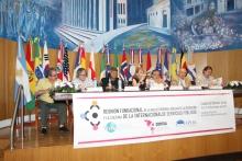 Reunión fundacional de la red del personal auxiliar de la educación y cultura de la ISP en Argentina