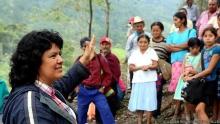 Berta Cáceres, chef de file de la défense de la cause indigène