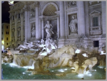 Fountain de Trevi à Rome
