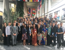 Participants at the launch of the international platform on Health Worker Mobility