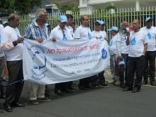 Mauritius against water privatisation