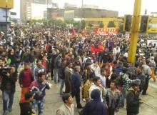 Perú: trabajadores salieron a la calle el 4 de Julio