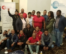 Young workers at the PSI People's National Health Insurance Conference.