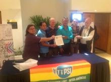 Miembros de la ISP y ILGA-LAC