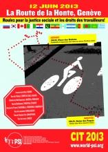 Poster Route de la Honte