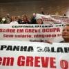 Grupo de los 80 profesionales de la salud en el estado se ha mantenido desde el 4 de junio el suelo de la Asamblea Legislativa de São Paulo (Alesp)