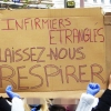 French demo for more health staff