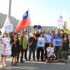 Integrantes de diferentes organizaciones sociales y sindicales protestaron el 4 de febrero en contra el TPP (Foto: Nayareth Quevedo)