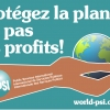 Protect the planet not profits!